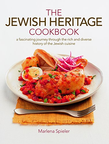 Jewish Heritage Cookbook: A Fascinating Journey Through The Rich And Diverse History Of The Jewish Cuisine by Marlena Spieler Sp