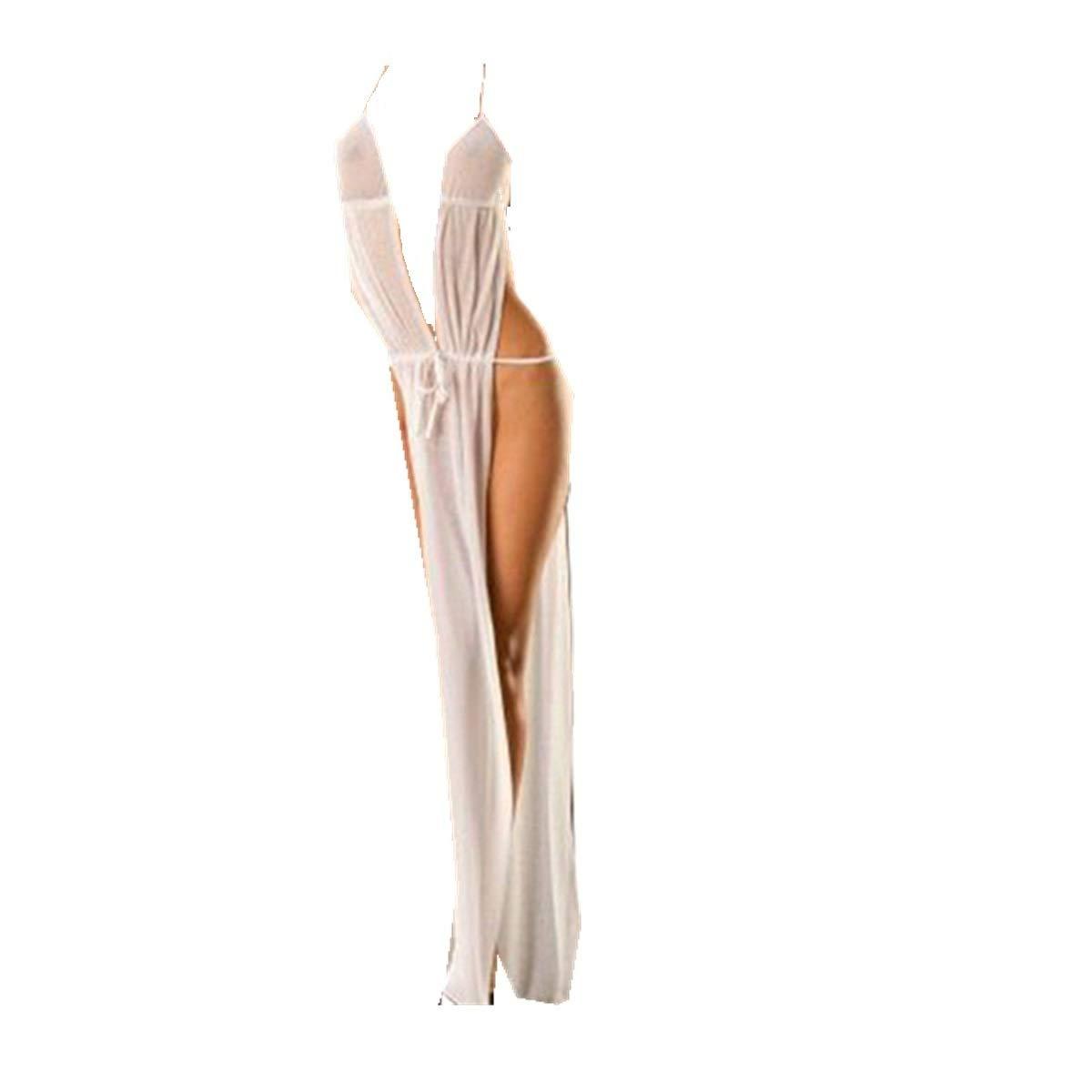 BaZhaHei-Productos para adultos, Productos de Adultos del Juguetes sexuales Ropa Interior de Vestido de Mujer Transparente de Encaje Sexy para Mujer del ...