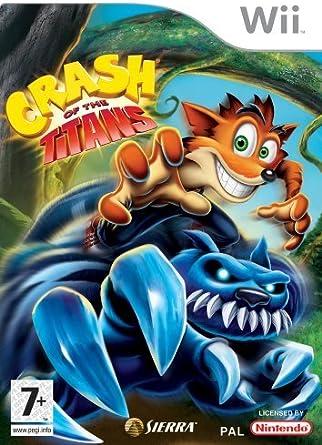 Crash of the Titans (Nintendo Wii) [importación inglesa]: Amazon.es: Videojuegos