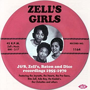 Various Artists - Zell's Girls: J&S, Zell's, Baton & Dice