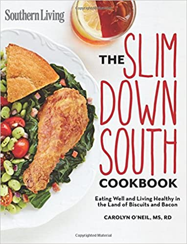 southern living slim down south cookbook eating well and living