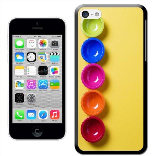 Fancy A Snuggle Coque arrière rigide billes colorées à clipser pour Apple iPhone 5C
