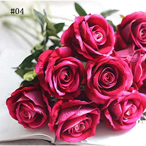 Dds5391 New 1Pc Artificial Fake Rose Flower Garden Home Wedding Bridal Party Decoration - 4# from dds5391