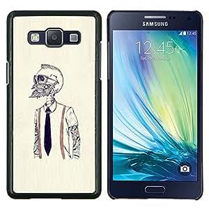 """Be-Star Único Patrón Plástico Duro Fundas Cover Cubre Hard Case Cover Para Samsung Galaxy A5 / SM-A500 ( Hipster Bearded Esqueleto"""" )"""