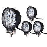 "Best Off Road Lights - LED Light Bar LEDKINGDOMUS 4X 27W 4"" LED Review"