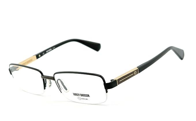213d907af8 Harley-Davidson - Montures de lunettes - Homme multicolore Noir/doré Taille  unique