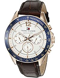 Men's 1791118 Sophisticated Sport Watch with Brown Leather Band