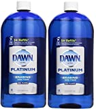 Dawn Platinum Erasing Dish Foam, Refill, Fresh Rapids Scent, 30.9 Fluid Ounce (2 PACK)