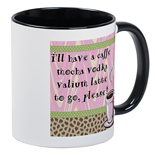 Cafe Mocha Vodka (CafePress - Cafe Vodka Latte Mug - Unique Coffee Mug, Coffee Cup)