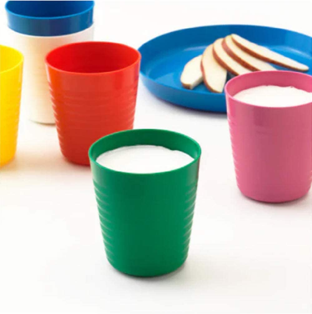 MUGS AND CUTLERY SET CUPS IKEA KALAS CHILDREN/'S KIDS PLASTIC BOWLS PLATES