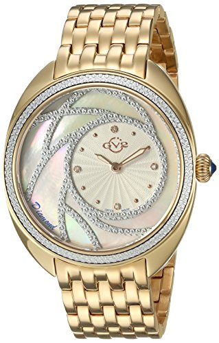 GV2-by-Gevril-Womens-Ancona-Swiss-Quartz-and-Stainless-Steel-Casual-Watch-ColorGold-Toned-Model-3702