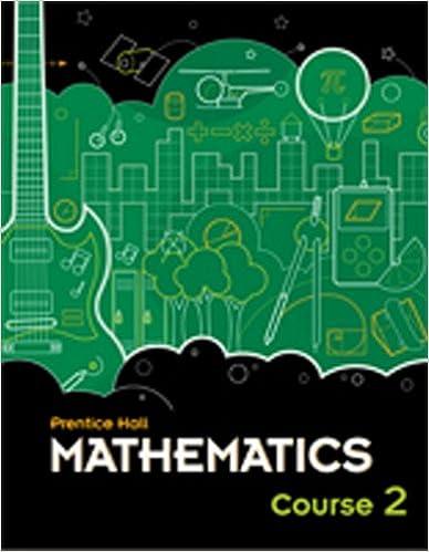 Prentice Hall Mathematics, Course 2: PRENTICE HALL: 9780133721164 ...