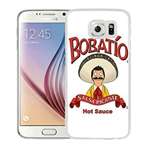 Fashionabe Samsung Galaxy S6 Case ,Popular And Unique Designed Case With Bob's Burgers 2 White Samsung Galaxy S6 Cover Phone Case