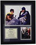 Legends Never Die Batman Framed Photo Collage, 11 by 14-Inch