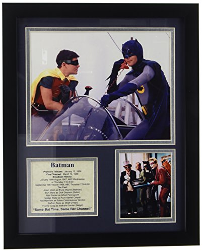 Legends Never Die Batman Framed Photo Collage, 11 by - Plaque Collectible Wall