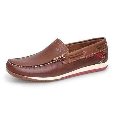 424b82b5de49 Grisport Mens Juno Leather Boat Shoe  Amazon.co.uk  Shoes   Bags
