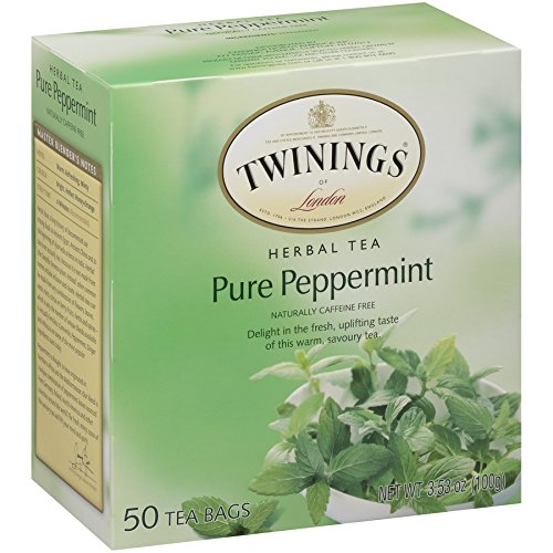 Twinings Pure Peppermint Tea 50 count Tea Bags by Twinings (Image #3)