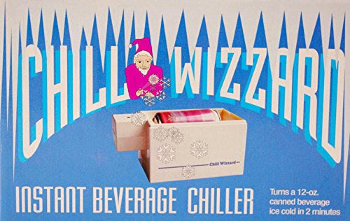 - Chill Wizzard Can Chiiler, Ice Cold in 2 Minutes