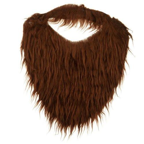 [Fun Beard - Brown W36S11D] (Brown Mustache And Beard Costume)