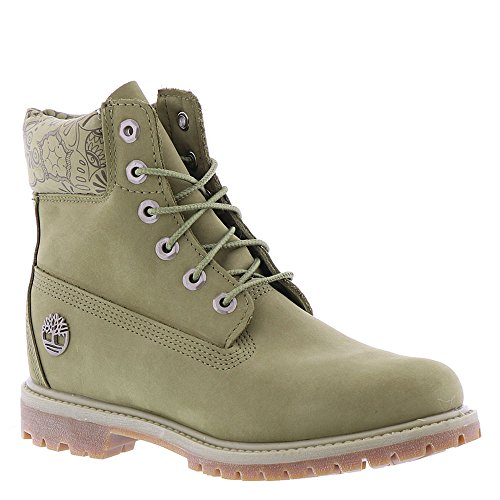 Timberland 6in premium boot, Boots homme Light Green W/Hena Color