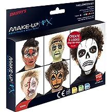 Smiffy's Women's Make-Up FX Halloween Kit 8-Colour Pallet