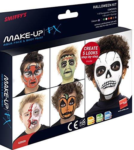 Fx Halloween Makeup (Make Up FX, Aqua, Halloween Kit Fancy Dress Accessories Costume)