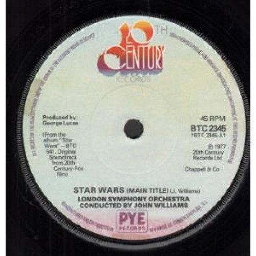 Star Wars by 20th Century Records