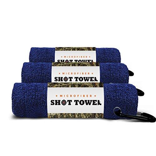 (Shot Towel Uniform Navy-3pk Microfiber, 16