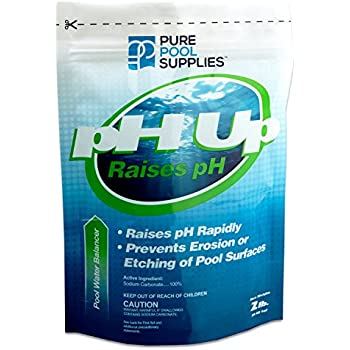 Aqua chem ph up for swimming pools 4 pound swimming pool ph balancers garden for How to add soda ash to swimming pool