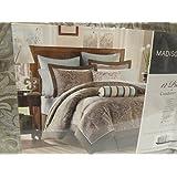 Madison Park Aubrey 12 Piece Comforter Set Size: King