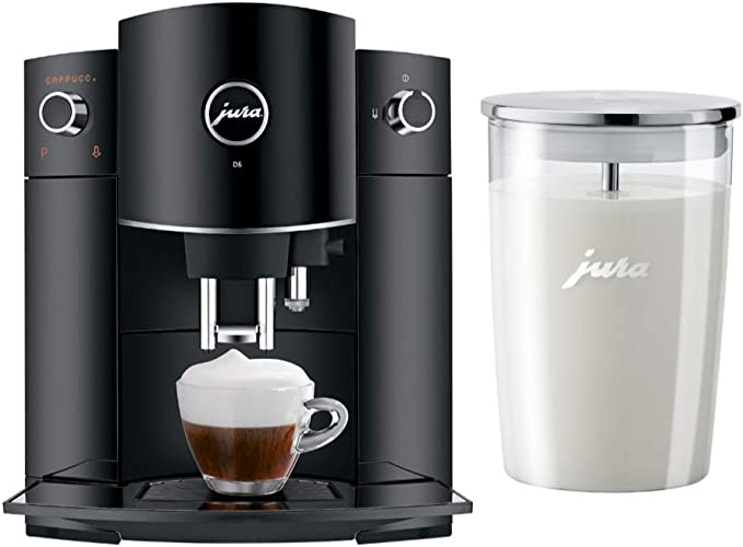 Jura 15215 D6 Automatic Coffee Machine Black