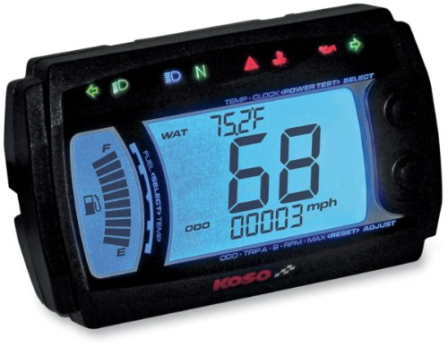 Koso XR-SR Multi Function Electronic Speedometer by Koso