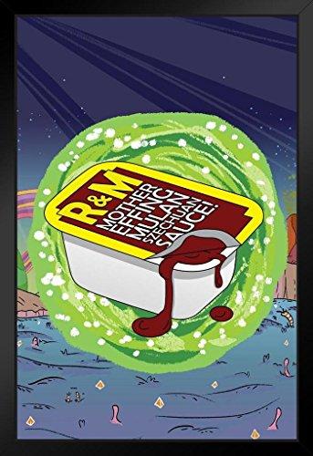 R&M Mother Effing Szechuan Sauce Funny Framed Poster by ProFrames