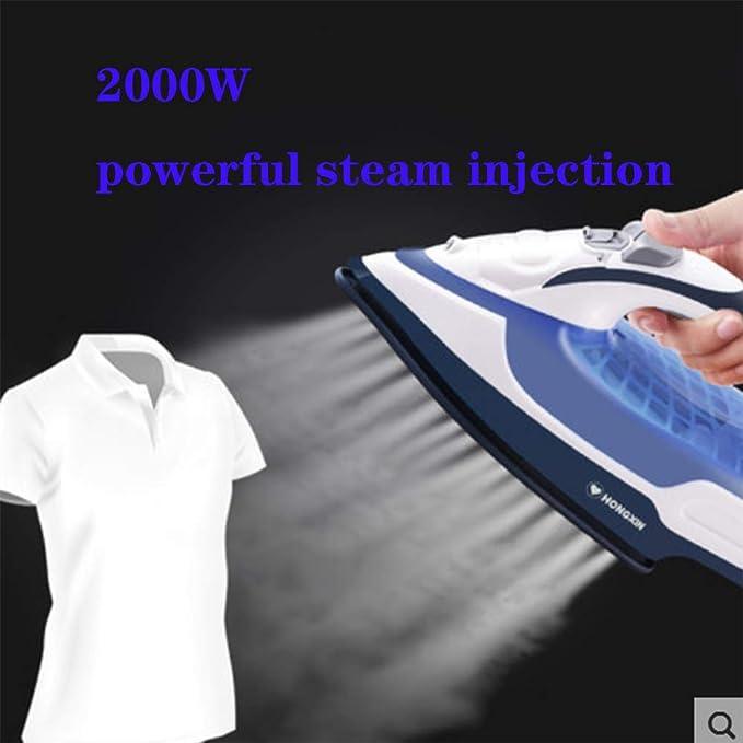 Plancha de vapor para ropa, cortacésped a vapor 2000 W, central ...
