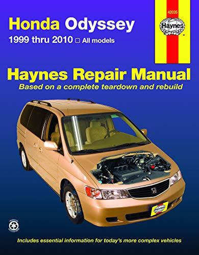 (Honda Odyssey 1999-2010 Repair Manual (Haynes Repair Manual))