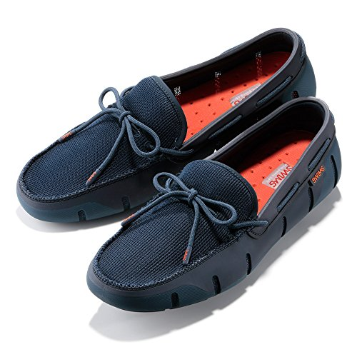 Swims Men's Stride Lace Loafers Blue (Posedin/Navy Fleck) yfWxSKSUu
