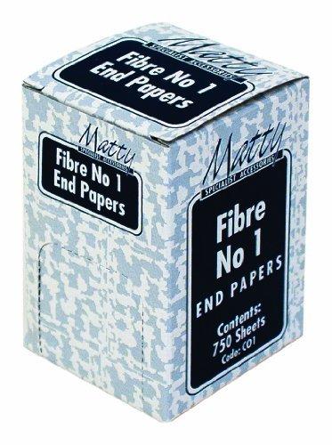 Disp Box - Disp. Box 1x750 Fibre No.1 (Perming Paper) 75x50mm - C01 by Matty
