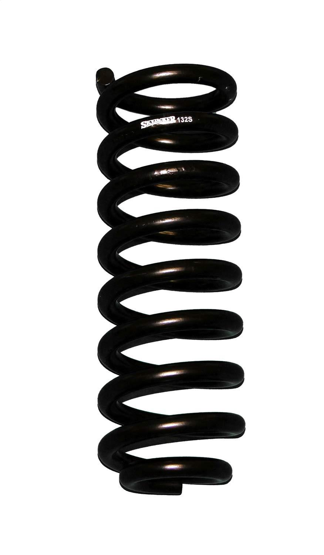 Set of 2 Skyjacker 132 Black Front 1.5-2 Lift Softride Coil Spring,