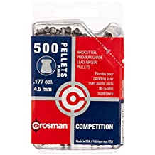 Crosman 500-Count Competition .177-Caliber Wadcutter Pellets