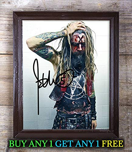 Rob Zombie Halloween Autographed Signed 8x10 Photo Reprint #10 Special Unique Gifts Ideas Him Her Best Friends Birthday Christmas Xmas Valentines Anniversary Fathers Mothers -