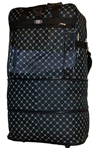 """Price comparison product image ALTA 30"""" Expandable Duffel duffle Rolling Luggage Bag with wheels wheeled"""