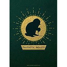 Fantastic Beasts: The Crimes of Grindelwald: Magical Creatures Hardcover Blank Sketchbook