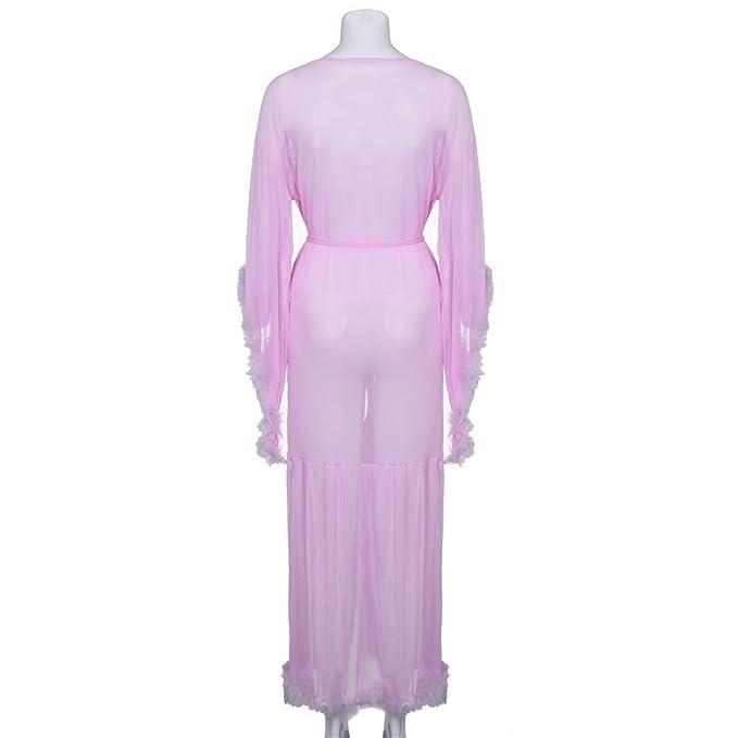 Rcool Camisones Batas y Kimonos Camisones Mujer Camisones Verano Camisones Tallas Grandes Mujer, Camisón Largo
