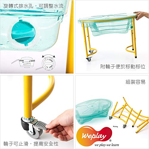 Weplay Sand and Water Table, Clear by Weplay (Image #3)