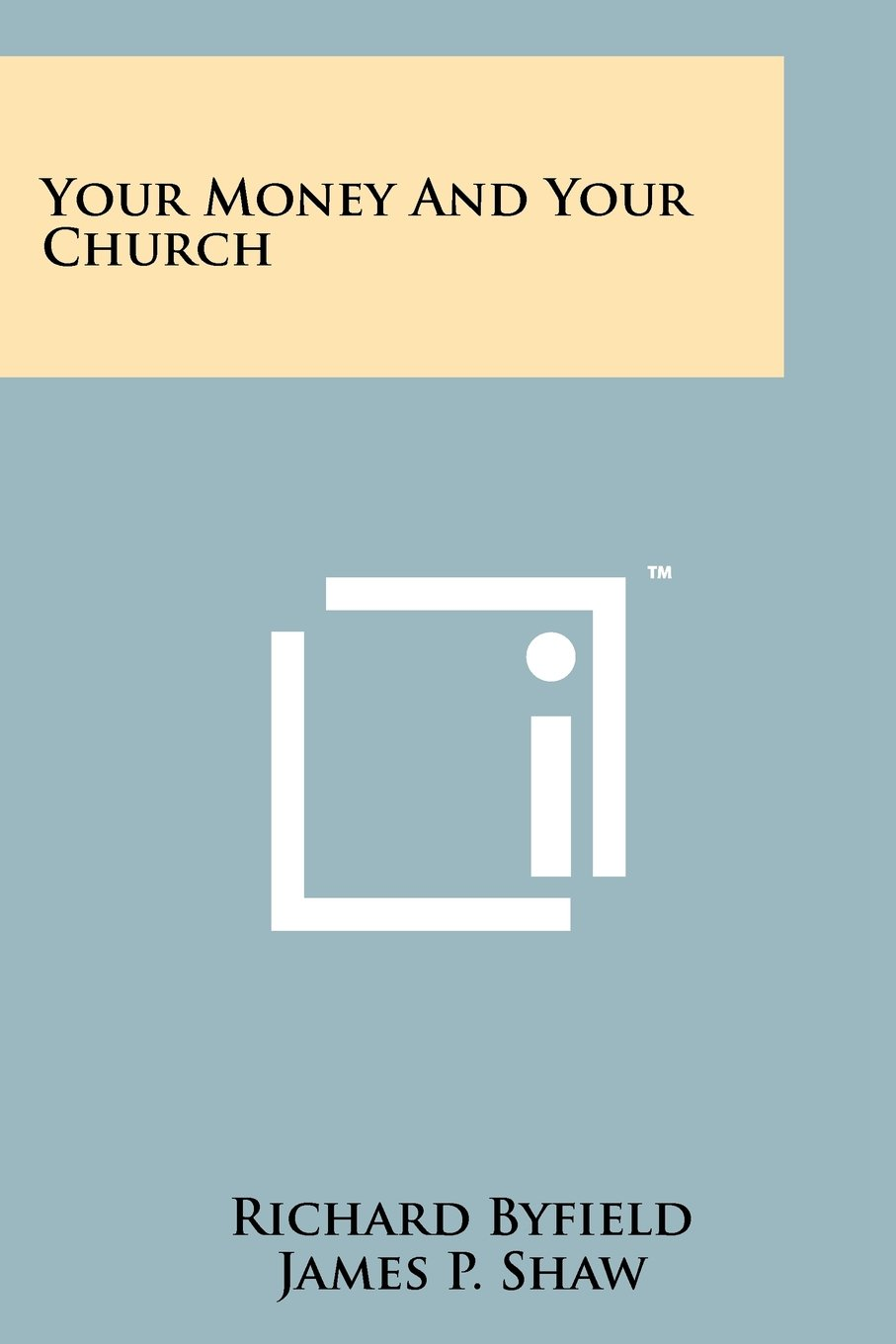 Download Your Money and Your Church pdf
