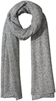 Collection XIIX Women's Oversized Shine Knitted Runway Wrap, Dusty Pink, One Size