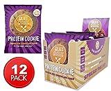 no bake chocolate - Buff Bake, Protein Cookie, Chocolate Chocolate Chip, Gluten Free & Non GMO, Pack of 12