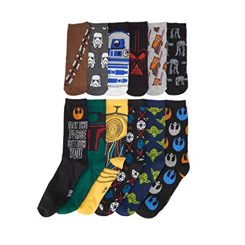 Mens Disney Star Wars 12 Days of Socks Advent Calendar