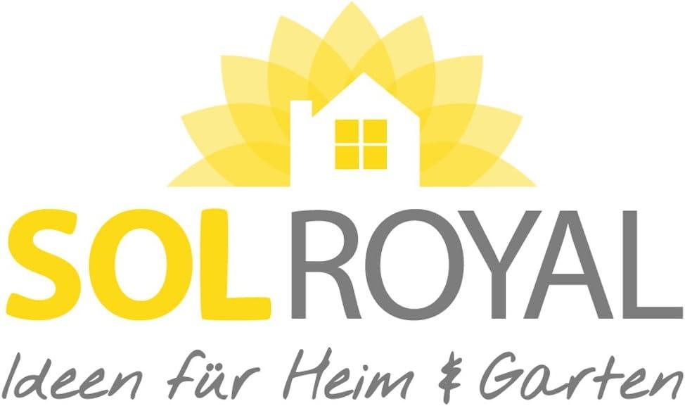 Antracite con Occhielli Sol Royal Frangivista e Telo frangivento per balconi SolVision HB2 90x300 cm Isolante