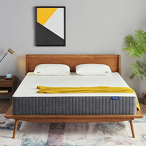 Queen Mattress, Sweetnight 10 Inch Gel Memory Foam Mattress in a Box, Sleeps Cooler, Supportive & Pressure Relief for a Deeper Restful Sleep with CertiPUR-US Certified Foam, Queen Size